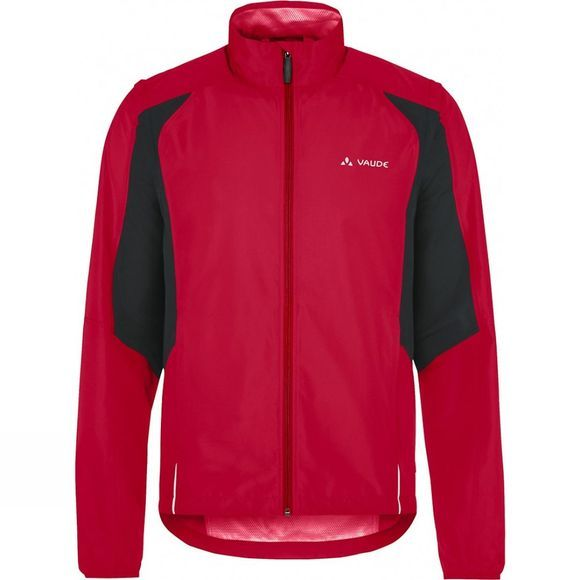 Vaude Mens Dundee Classic Zip Off Jacket Indian Red