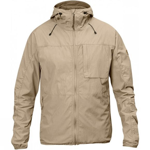 Fjallraven Mens High Coast Wind Jacket Limestone