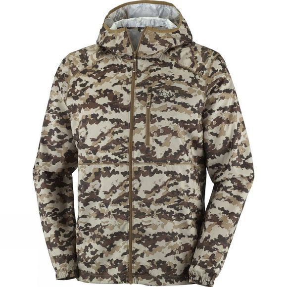 Mens Flash Forward Windbreaker Print Jacket