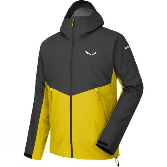 Salewa Mens Sesvenna WR Windstopper Jacket Black Out