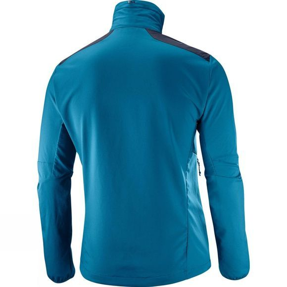 Salomon Mens Active Wing Jacket Moroccan Blue/Night Sky