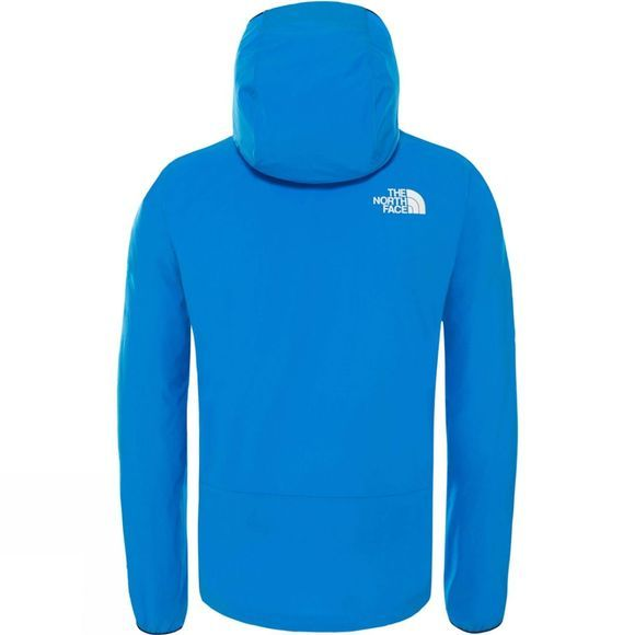 The North Face Mens Northdome Stretch Wind Jacket Bomber Blue