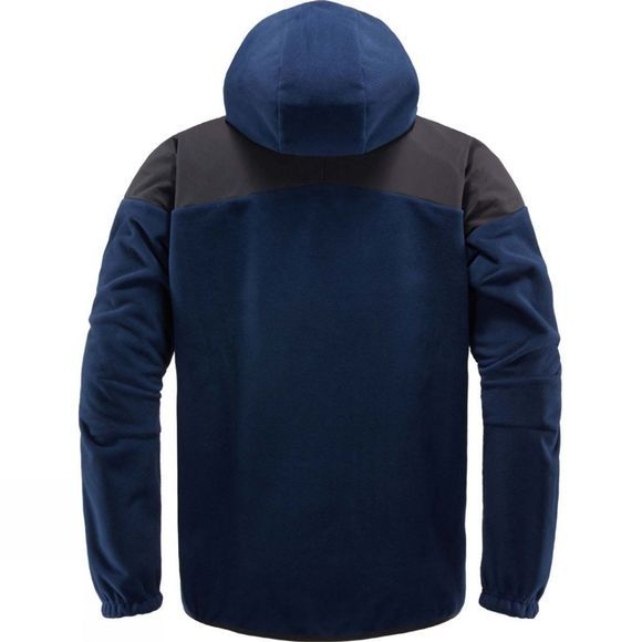 Haglofs Mens Norbo Windbreaker Hood Jacket Tarn Blue/True Black