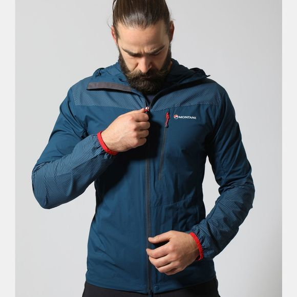 Montane Men's Lite-Speed Jacket Narwhal Blue