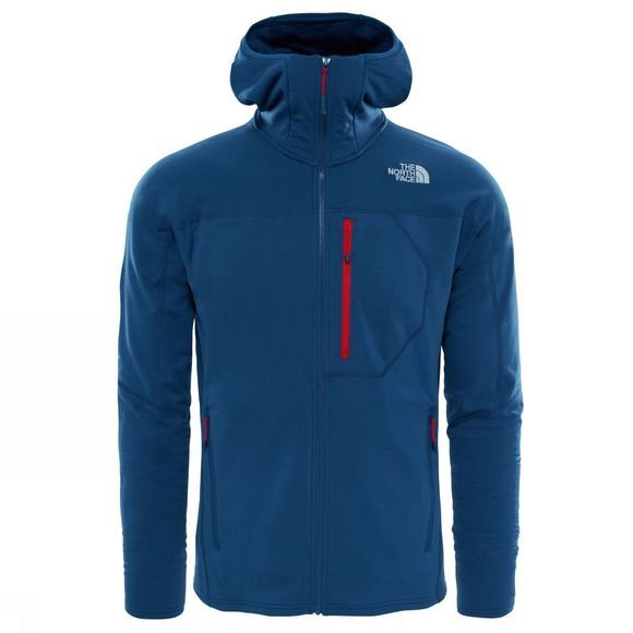 The North Face Mens Incipient Hooded Jacket Shady Blue
