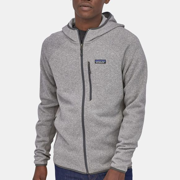 Patagonia Mens Performance Better Sweater Hoody Feather Grey