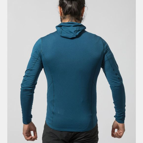 Montane Mens Allez Micro Hoodie Narwhal Blue