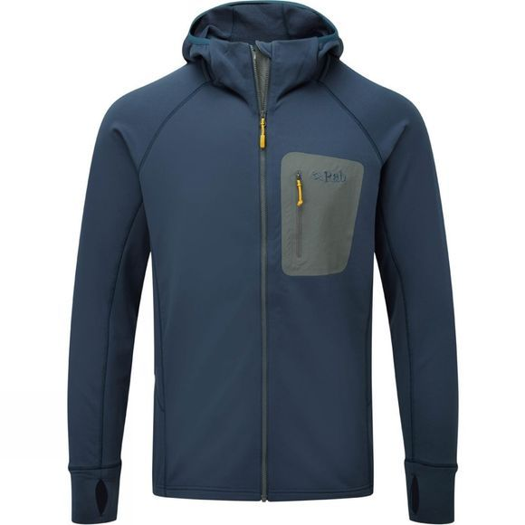 Rab Mens Superflux Hoody Deep Ink