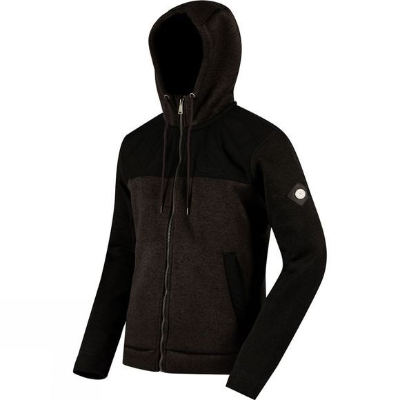 Regatta Mens Ryne Hooded Fleece Ash