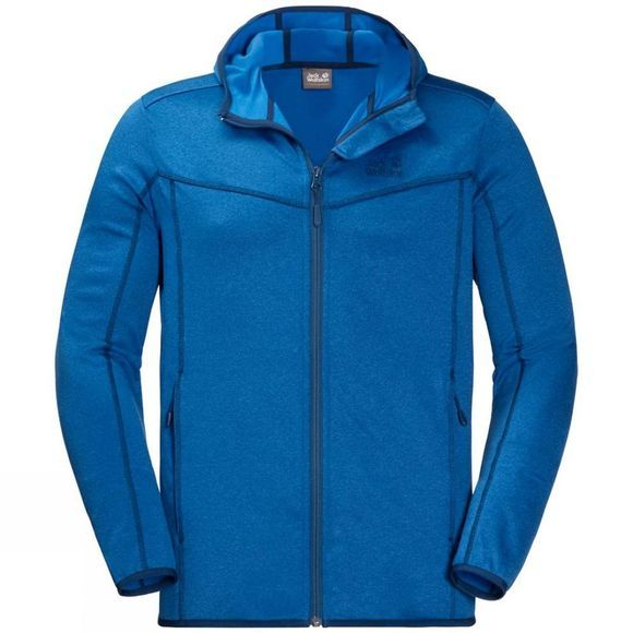 Jack Wolfskin Mens Sutherland Hooded Jacket Electric Blue
