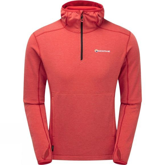 Montane Mens Venom Hoodie Alpine Red/Black