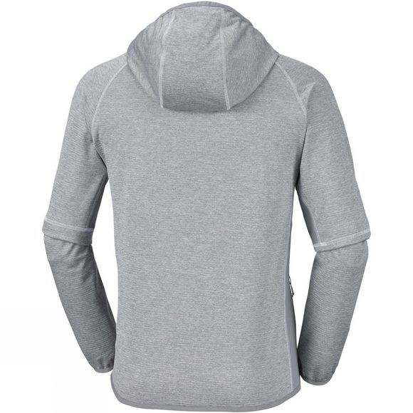 Columbia Mens Triple Canyon Hooded Fleece Grey Ash Heather