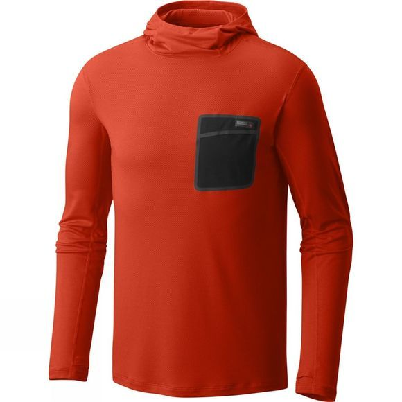 Mens Metonic Long Sleeve Hoody