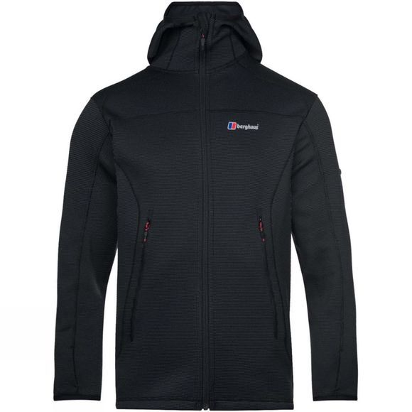Berghaus Mens Pravitale 2.0 Hooded Jacket Carbon/Black
