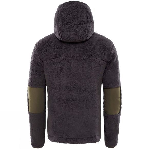 The North Face Mens Campshire Pullover Hoodie Weathered Black/New Taupe