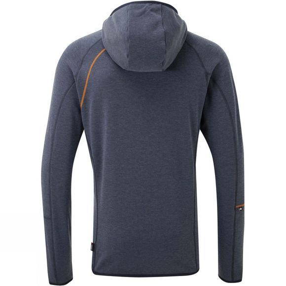 Mountain Equipment Rimo Hooded Zip Tee Cosmos