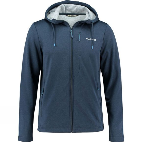 Ayacucho Mens Green Lake Tencel Hoodie DARK NAVY