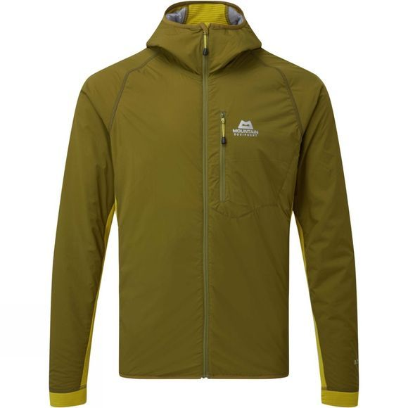 Mountain Equipment ME Switch Pro Hooded Jacket Fir Green/Acid