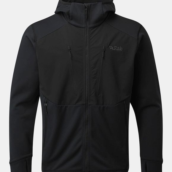 Rab Mens Megaflux Jacket Black/Steel