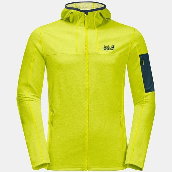 Jack Wolfskin Milford Hooded Jacket Flashing Green