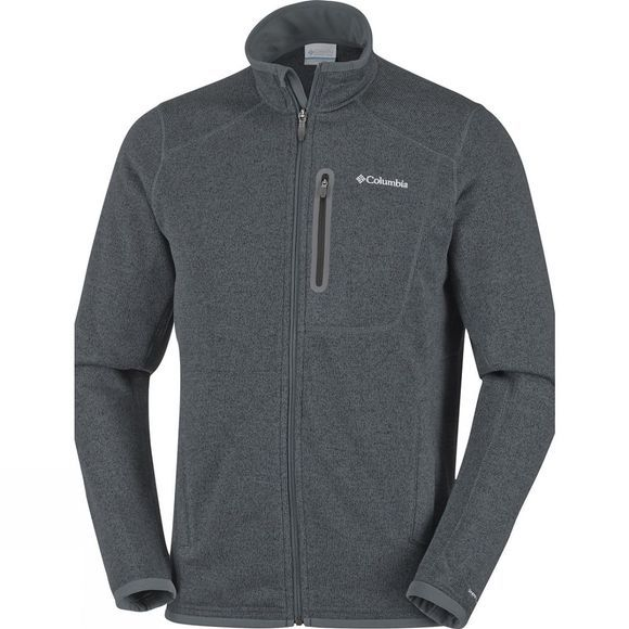 Columbia Mens Altitude Aspect Full Zip Graphite Heather