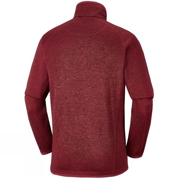 Columbia Mens Altitude Aspect Full Zip Red Element Heather