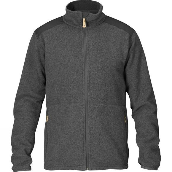 Fjallraven Men's Sten Fleece Dark Grey