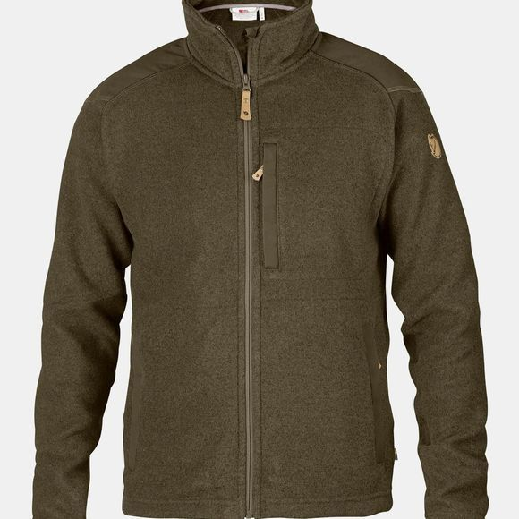 Fjallraven Mens Buck Fleece Dark Olive