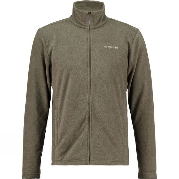 Ayacucho Mens Crevasse Fleece Beluga Stripe