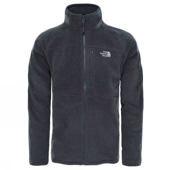 The North Face Mens 200 Shadow Full Zip Fleece TNF Dark Grey Heather