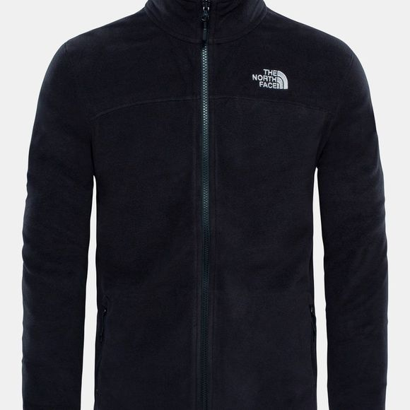 The North Face Men's 100 Glacier Full Zip Fleece TNF Black