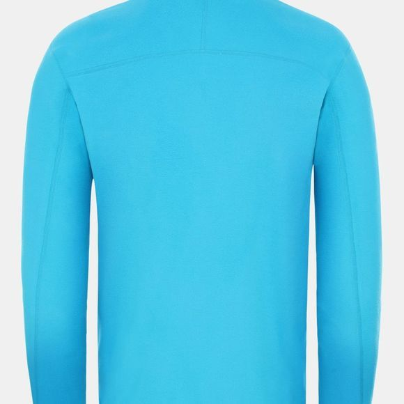 The North Face Mens 100 Glacier Full Zip Fleece Acoustic Blue