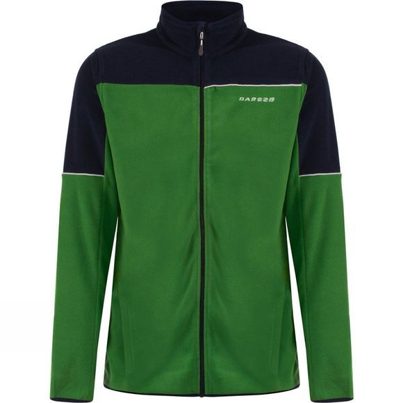 Dare 2 b Mens Outmode Fleece Extreme Green / Air Force Blue