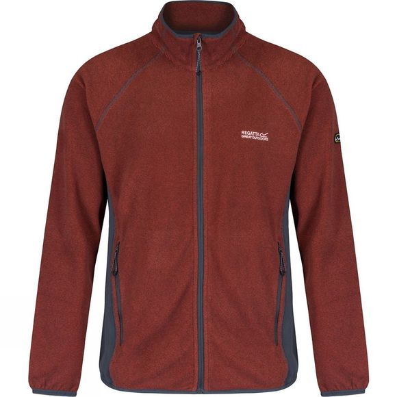 Mens Mons II Full Zip Fleece
