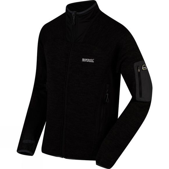Mens Collumbus III Full Zip Fleece