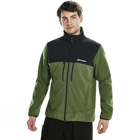 Berghaus Mens Fortrose Pro 2.0 Jacket Dark Bronze Green Marl