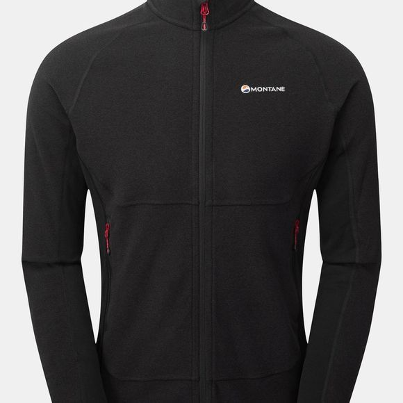 Montane Mens Jacket Black/Alpine Red