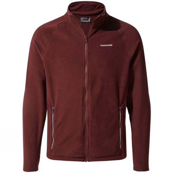 Craghoppers Mens Selby Interactive Fleece Dark Wine