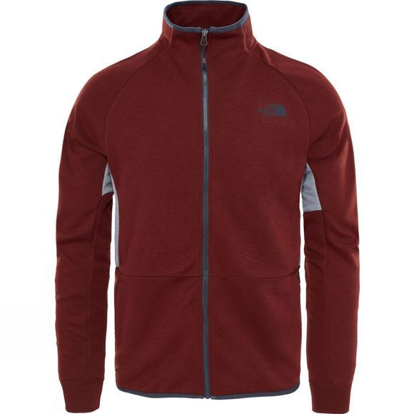 The North Face Slacker Full Zip Jacket Sequoia Red