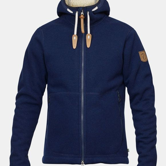 Fjallraven Polar Fleece Jacket Navy