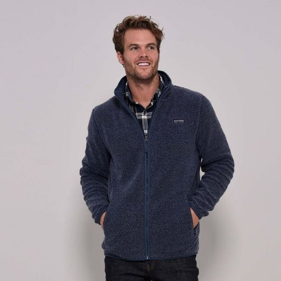 Mens Zip Through Fleece