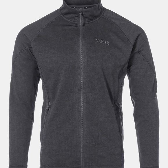 Rab Mens Nucleus Fleece Steel