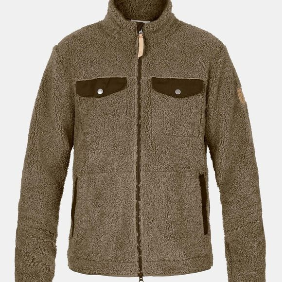 Fjallraven Mens Greenland Pile Fleece Taupe