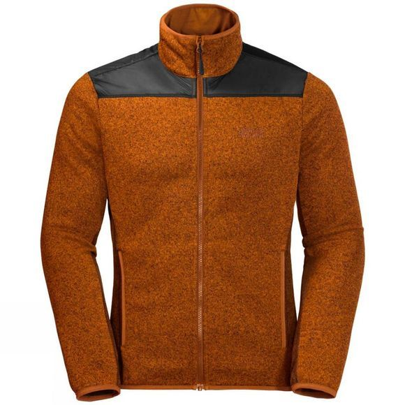 Jack Wolfskin Mens Elk Lodge Jacket Desert Orange