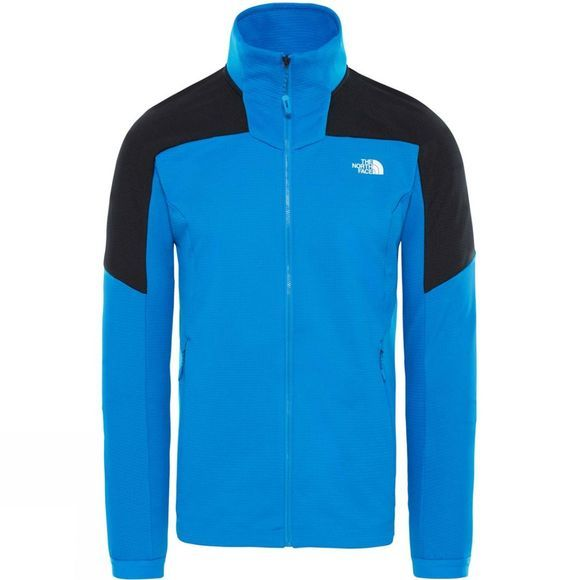 The North Face Mens Impendor Full Zip Mid Layer Jacket Bomber Blue
