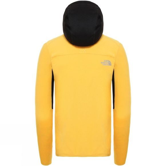The North Face Mens Kabru Fz Hoodie Tnf Yellow/Tnf Black