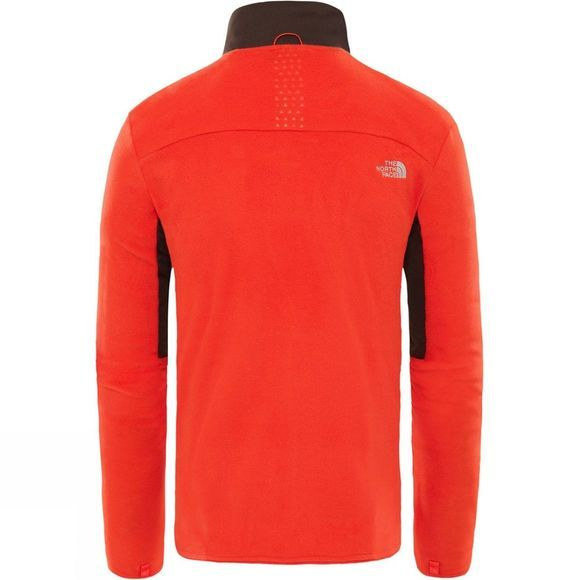 The North Face Mens Kabru Fz Fleece Fiery Red