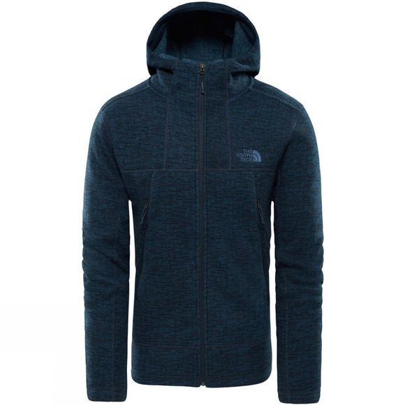 The North Face Mens Gordon Lyons Alpine F/Z Hoodie Urbannavysweatrtextureprt