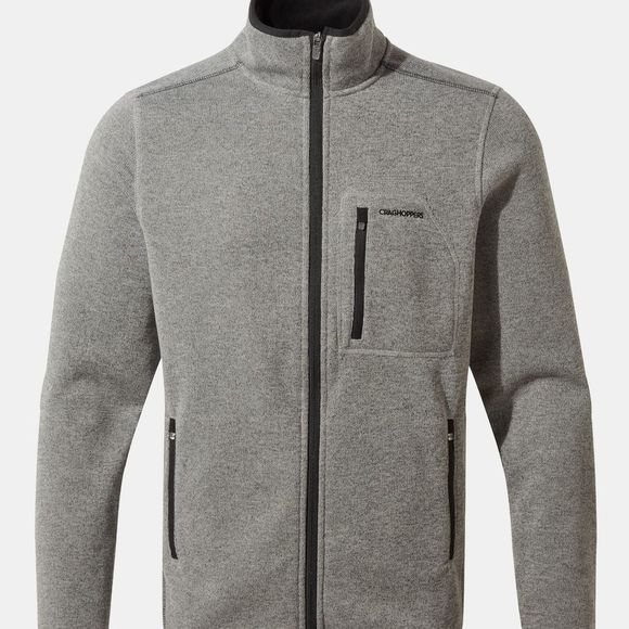 Craghoppers Mens Etna Jacket Soft Grey Marl/Dark Grey