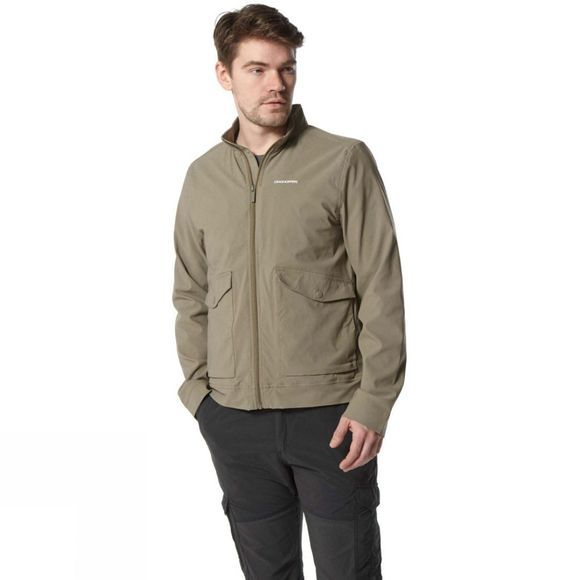 Craghoppers Mens NosiLife Varese Jacket Pebble